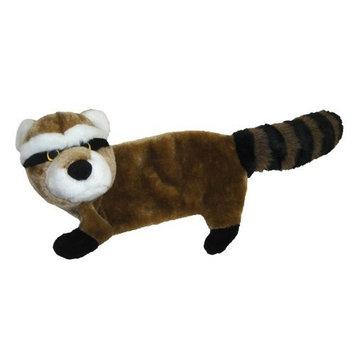 Pet Lou 00941 Flat Body Dog Chew Toy, 30-Inch Raccoon