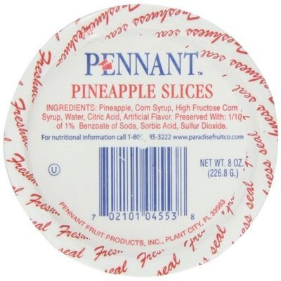 Pennant Pineapple Slices, 8 Ounce