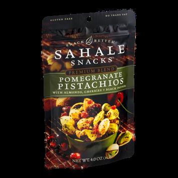 Sahale Snacks Premium Blend Pomegranate Pistachios with Almonds, Cherries + Black Pepper