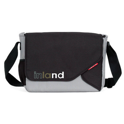 Inland 140040 Inland Titan Pro Messenger Bag Fits most 15. 4 Laptops