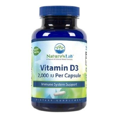 Nature's Lab Vitamin D3, 2,000 IU