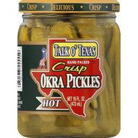 Talk O' Texas Brands Crisp Okra Hot Pickles