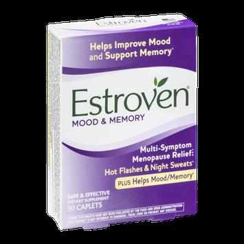 Estroven Mood & Memory Multi-Symptom Menopause Relief Caplets - 30 CT