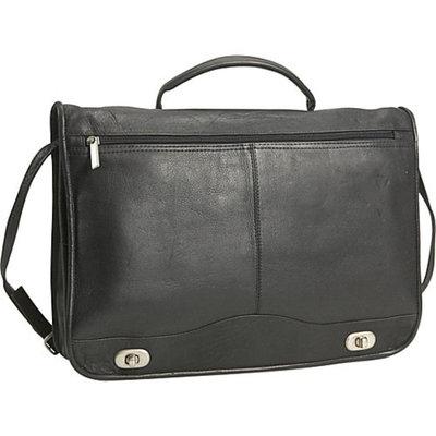 David King & Co. Full Flapover Briefcase