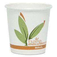 SOLO Cup Company Bare PCF Paper Hot Cups, 16 oz, 1000/Carton