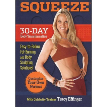 E1 Entertainment SQUEEZE 30-Day Body Transformation DVD with Tracy Effinger