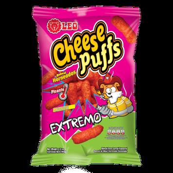 Leo Cheese Puffs Extrem0 45g (1.59 Oz)