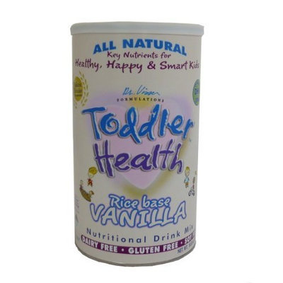 Toddler Health Balanced Nutritional Drink, Rice-Based Powder, Vanilla, 16.93-Ounce Cans (Case of 6)