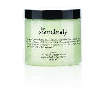 Philosophy Be Somebody Body Scrub, Green Tea, 23 Ounce
