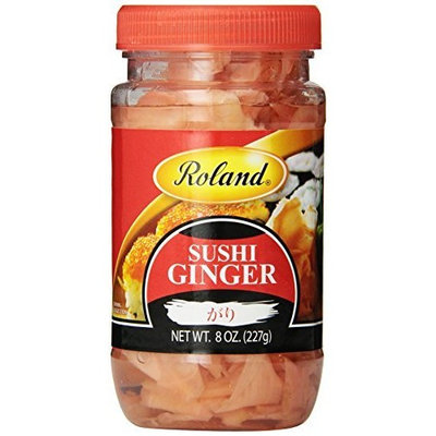 Roland Sushi Ginger, 8-Ounce (Pack of 8)