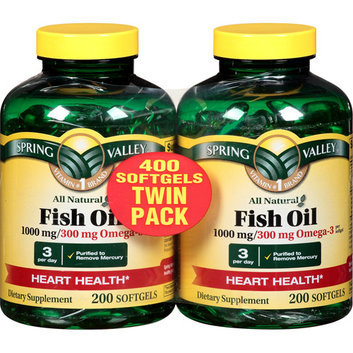 Spring valley Fish Oil 1000 mg