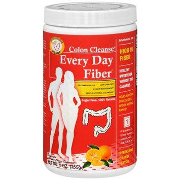Health Plus Colon Cleanse Every Day Fiber, Orange, 9 oz