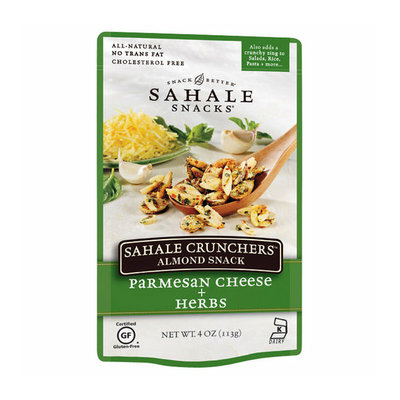 Sahale Snacks® Crunchers Almond Snack Parmesan Cheese & Herbs