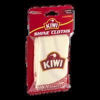 Kiwi Shine Cloths Leather Shoes - 2 CT