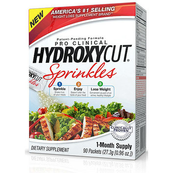 Hydroxycut Pro Clinical Sprinkles Dietary Supplement