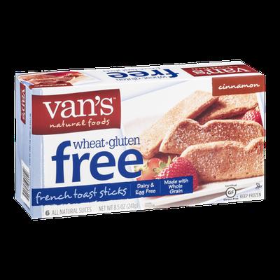 Van's Natural Foods Wheat & Gluten Free French Toast Sticks Cinnamon  - 6 CT