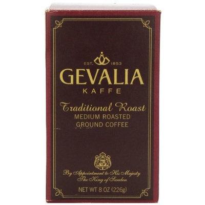 Gevalia Traditional Roast Ground Coffee, 8 Ounce Package