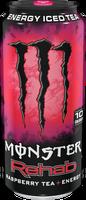 Monster Rehab Raspberry Tea + Energy