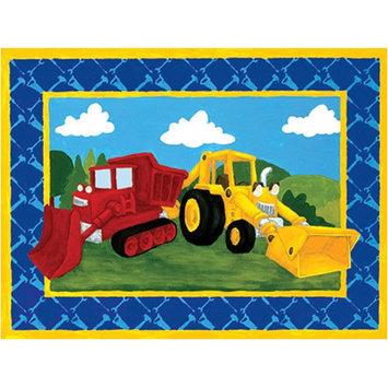 Art4Kids Art 4 Kids Building Trucks Canvas Art
