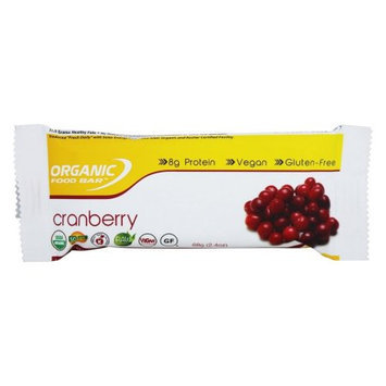 Organic Food Bar - Cranberry - 2.4 oz.