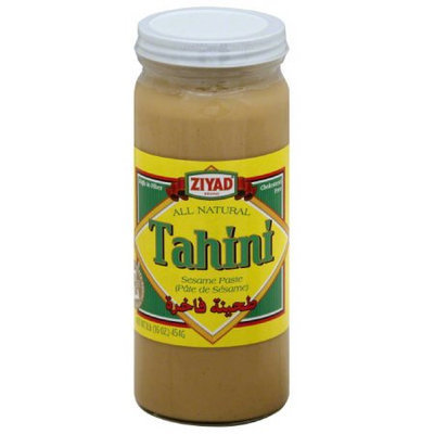 Ziyad All Natural Tahini Sesame Paste, 16 oz, (Pack of 6)