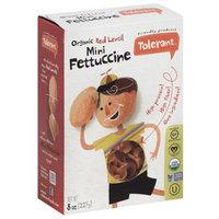 Tolerant Organic Red Lentil Mini Fettuccine, 8 oz, (Pack of 6)
