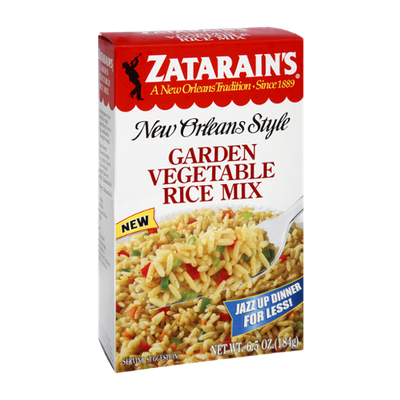 Zatarain's Garden Vegetable Rice Mix