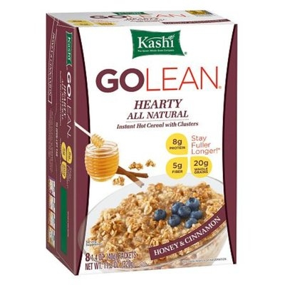 Kashi GOLEAN: Instant Hot Cereal Hearty Honey & Cinnamon