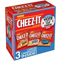 Cheez It Cheez-It Baked Snack Crackers Variety, 3ct