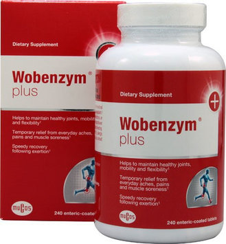 Wobenzym Plus 240 Enteric Coated Tablets