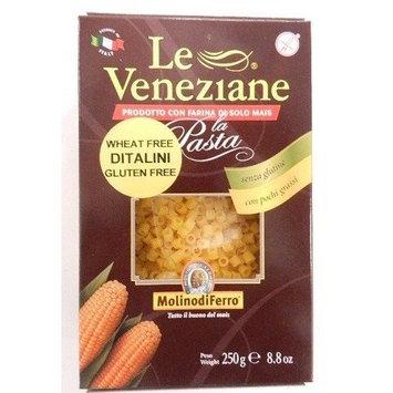 Molino di Ferro Le Veneziane Italian Gluten Free Corn Pasta Ditalini 250