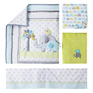 4pc Crib Bedding Set - Trunks of Love by Circo
