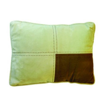 Happy Tails Micro Suede Block Dog Bed