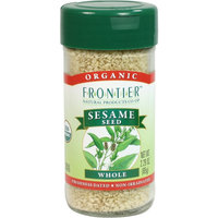 Frontier Certified Organic Sesame Seed, Hulled Whole