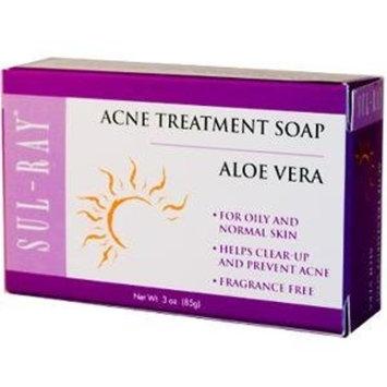 Sulray Acne Soap w/ Aloe Vera Sul-Ray 3 oz