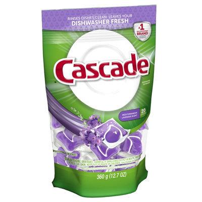 Cascade ActionPacs Mediterranean Lavender Scent Dishwasher Detergent 20 Count