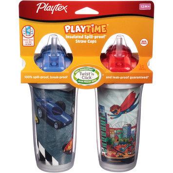 Playtex Insulator Straw Cup 9 oz. 2pk - Boy