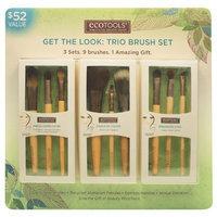 EcoTools Get The Look Trio Brush Set ( 9 Brushes)