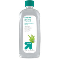 up & up Baby Oil with Aloe - 20 oz.