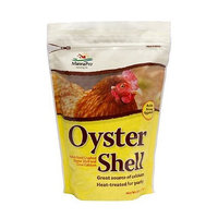 Manna Pro 0806960236 Crushed Oyster Shell for Birds, Pullet Size, 5-Pound