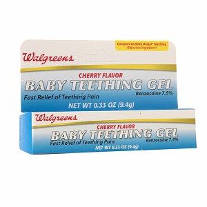 Walgreens Baby Teething Gel