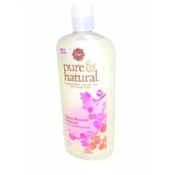 Cherry Blossom & Almond Moisturizing Bodywash, Pure & Natural, 16-Ounce (Pack of 2)
