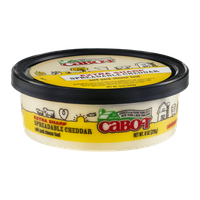 Cabot Spreadable Cheddar Extra Sharp