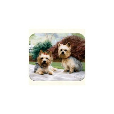 Fiddlers Elbow m24 Yorkie Porch Mouse Pad, Pack Of 2