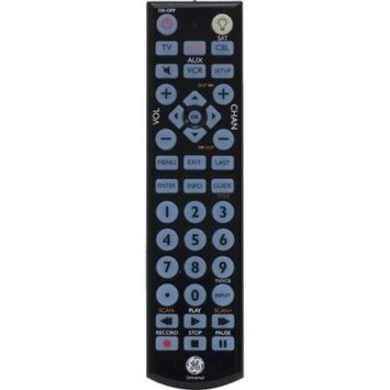 GE Backlit Remote Control