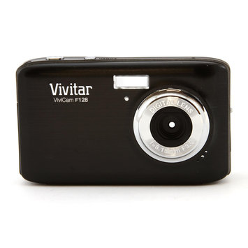Vivitar ViviCam F128 14.1MP Black Digital Camera