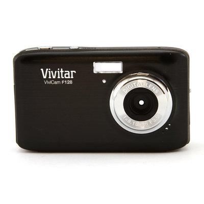 Vivitar ViviCam F128 14.1MP Black Digital Camera