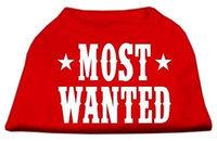 Ahi Most Wanted Screen Print Shirt Red Sm (10)