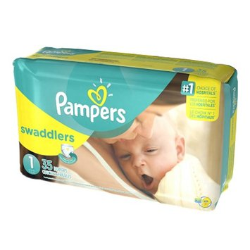 Pampers Swaddlers Diapers Size 1 Jumbo Pack