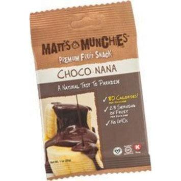 Matt's Munchies Organic  Choco-Nana Fruit Snack